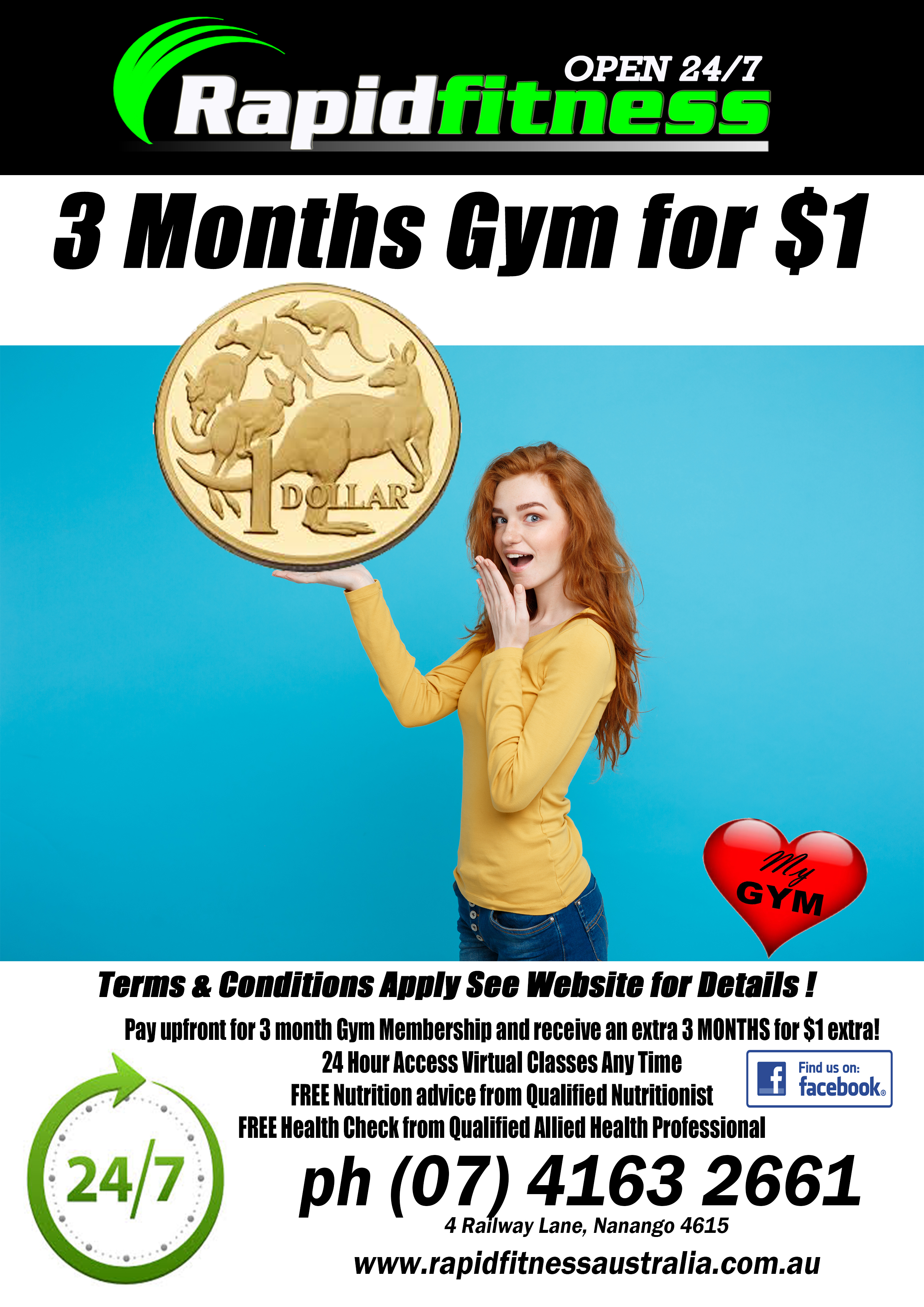 3 Months For $1 in November
